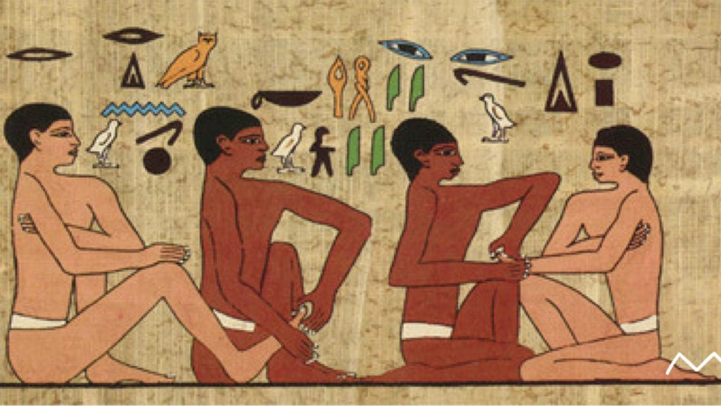 Massage is an age old art practised since ancient Egypt.