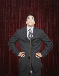 The fear of public speaking is almost universal